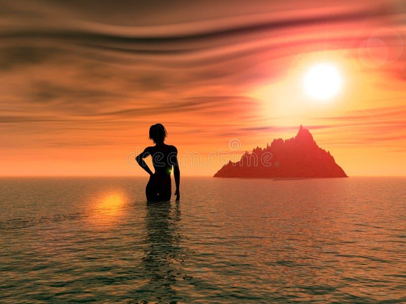 Download Salida del sol 5 stock de ilustración. Ilustración de fondo - 184856