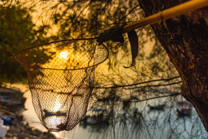 Salida del sol de la atmósfera de la mañana de la playa de Rawai Phuket tailandia imágenes de archivo libres de regalías