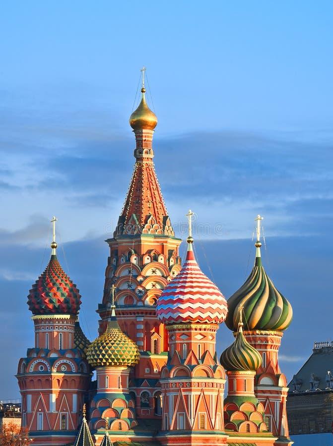 Salida del sol de Moscú imágenes de archivo libres de regalías