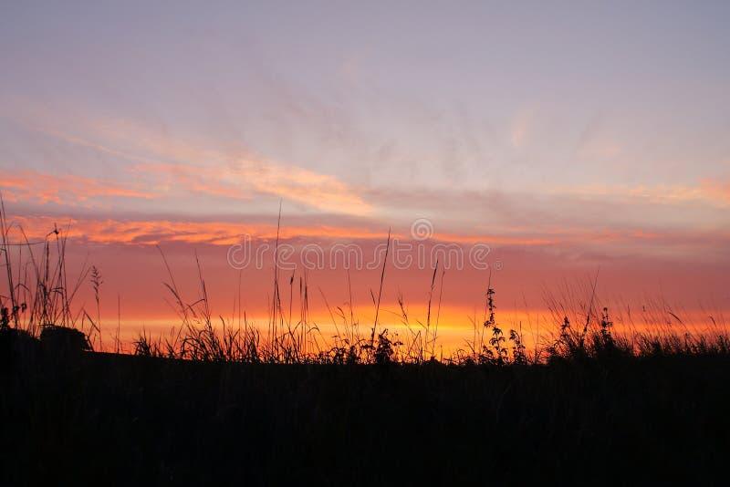 Salida del sol de Suffolk imagen de archivo libre de regalías