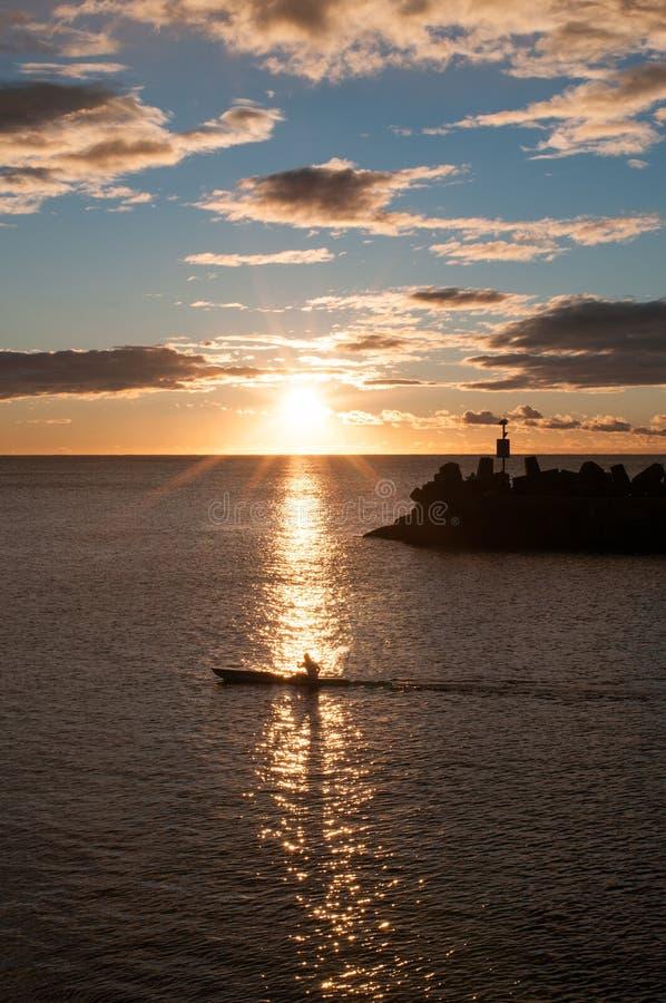Salida del sol de Wollongong fotografía de archivo libre de regalías