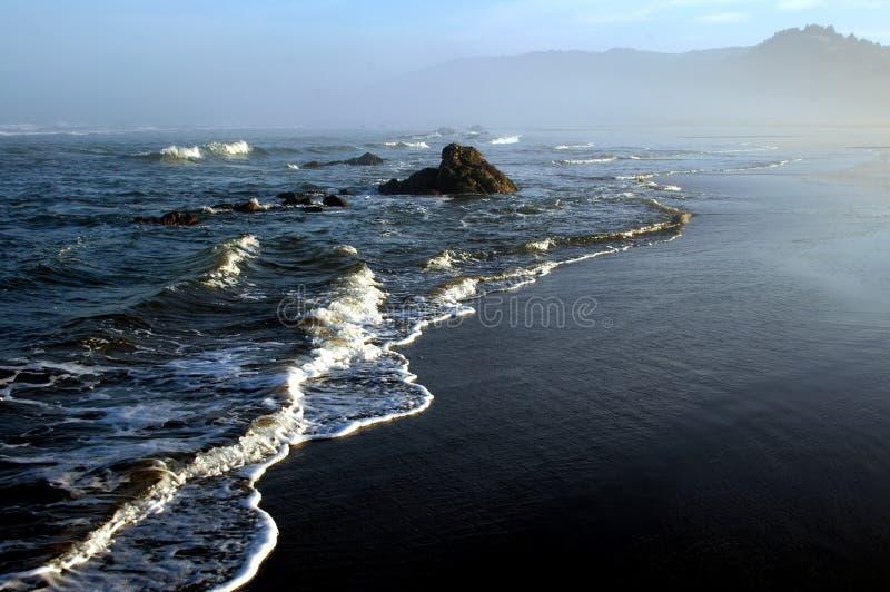 Salida del sol del océano fotografía de archivo