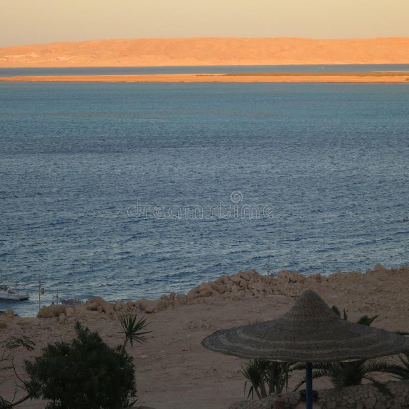 Salida del sol en Egipto foto de archivo