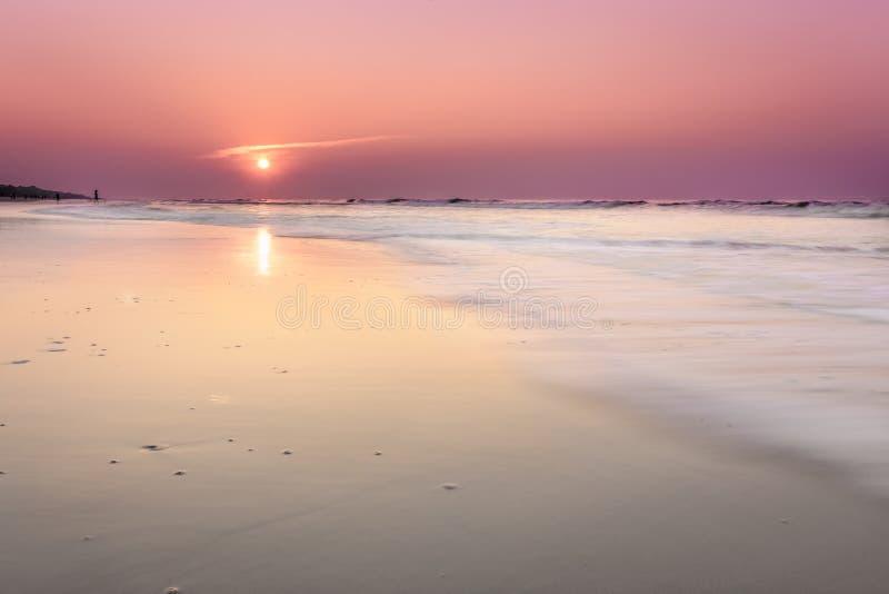 Salida del sol en Hilton Head Island imágenes de archivo libres de regalías