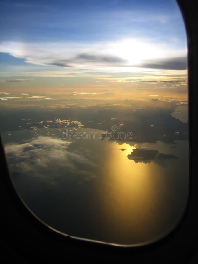Download Salida Del Sol En Kosamui, Tailandia Imagen de archivo - Imagen de meridional, árboles: 1298785