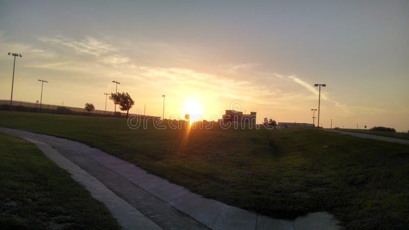 Salida del sol en Tejas fotos de archivo libres de regalías