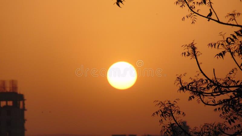 Salida del sol natural imagen de archivo