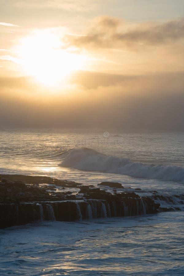 Salida del sol, puentes naturales fotografía de archivo libre de regalías