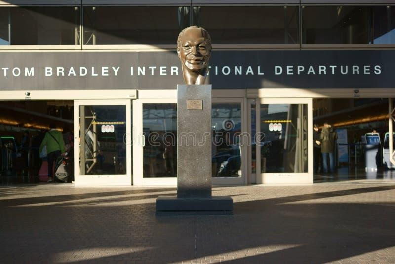Salidas de Tom Bradley International fotografía de archivo