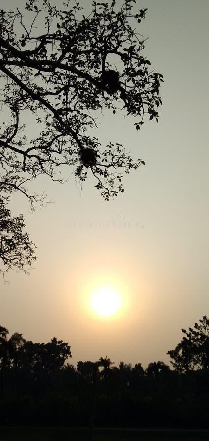 Salidas del sol de las puestas del sol imágenes de archivo libres de regalías