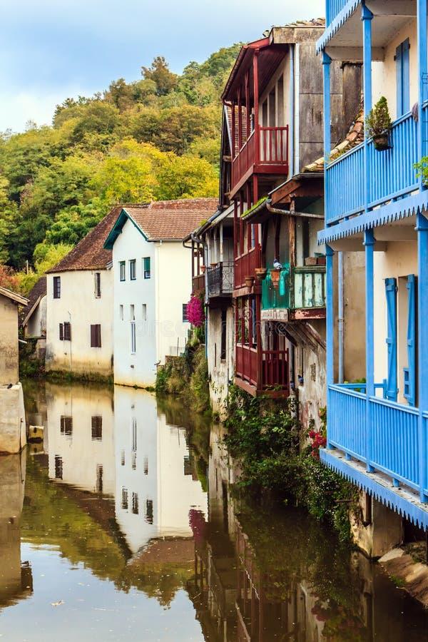 Salies de Béarn, Франция стоковое изображение