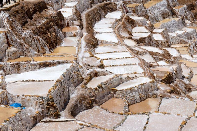 Salina Maras salt field royalty free stock photo