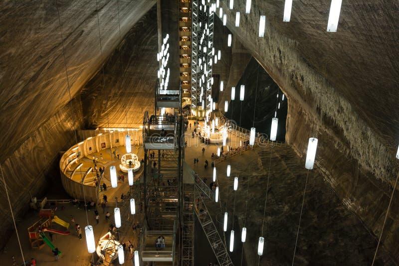 Salina Turda Salt Mine lizenzfreie stockfotos