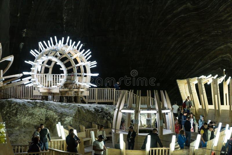 Salina Turda Salt Mine lizenzfreie stockbilder