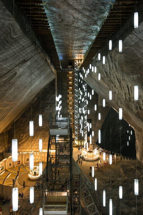 Salina Turda Salt Mine lizenzfreies stockbild