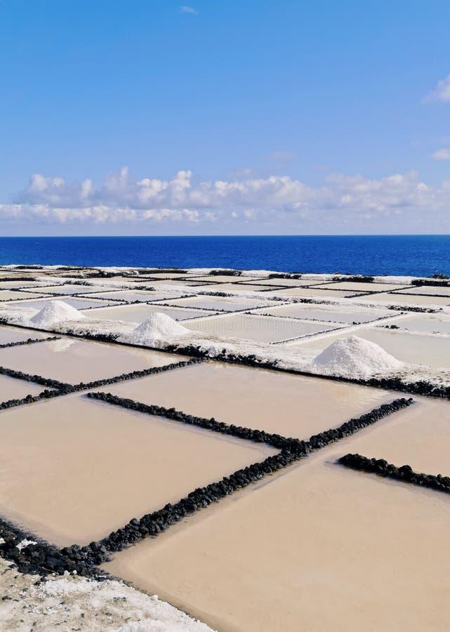 Salinas de Fuencaliente, La Palma foto de stock