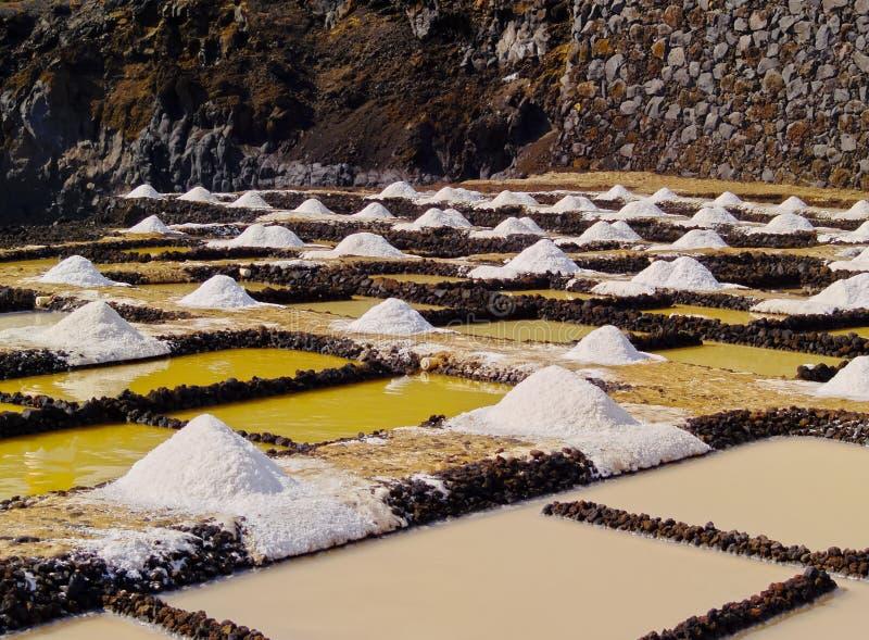 Salinas de Fuencaliente, La Palma imagem de stock royalty free