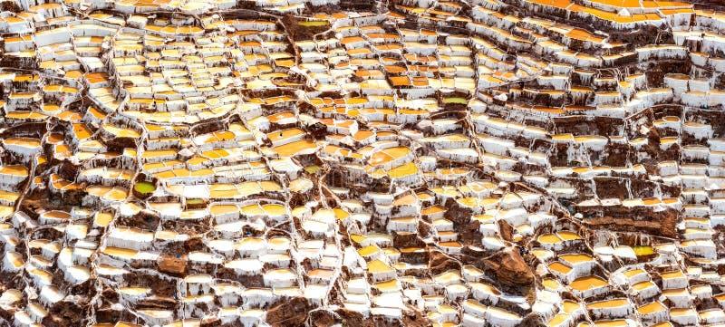 Salinas de Maras fotos de archivo libres de regalías