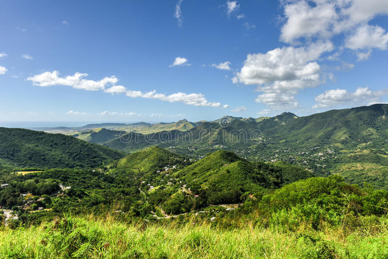 Salinas landskap, Puerto Rico arkivbild