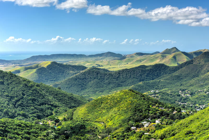 Salinas landskap, Puerto Rico royaltyfria foton
