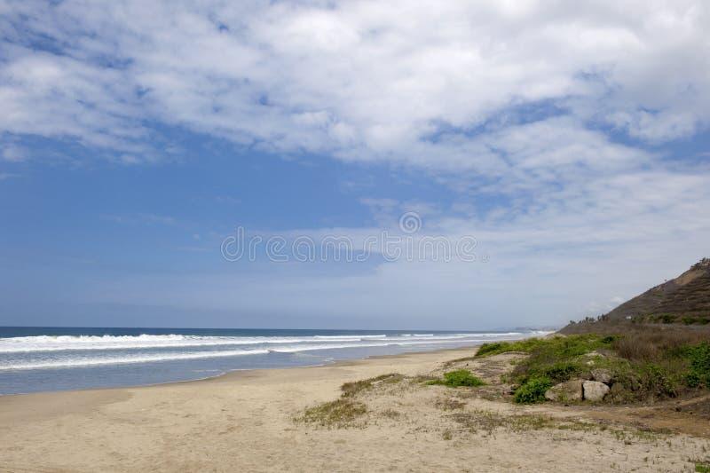 Salines salines en Equateur image stock