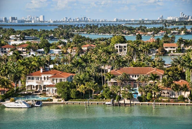 Salir de Miami, la Florida imagenes de archivo