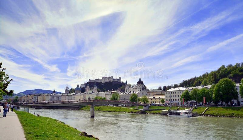 Download Salisburgo, Austria fotografia editoriale. Immagine di corsa - 56887026