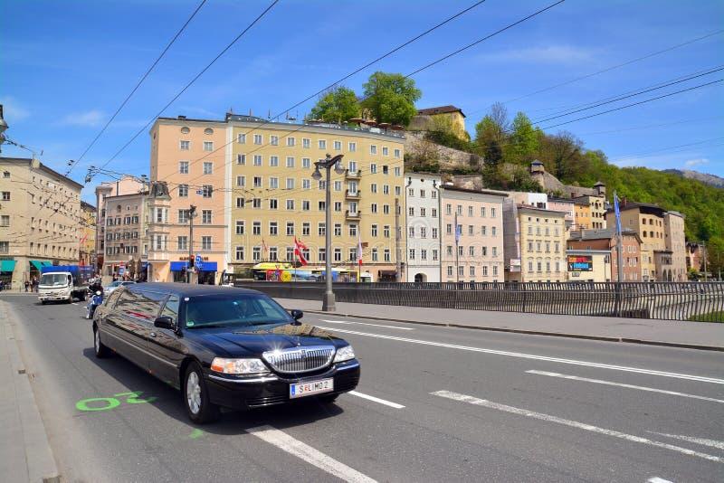 Download Salisburgo, Austria immagine editoriale. Immagine di austria - 56887035