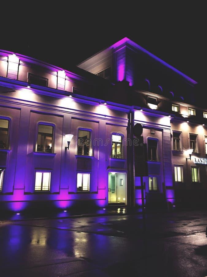 Salisburgo Landestheater fotografia stock