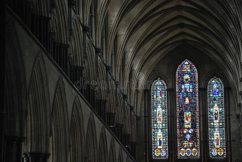 Salisbury Cathedral royalty free stock image