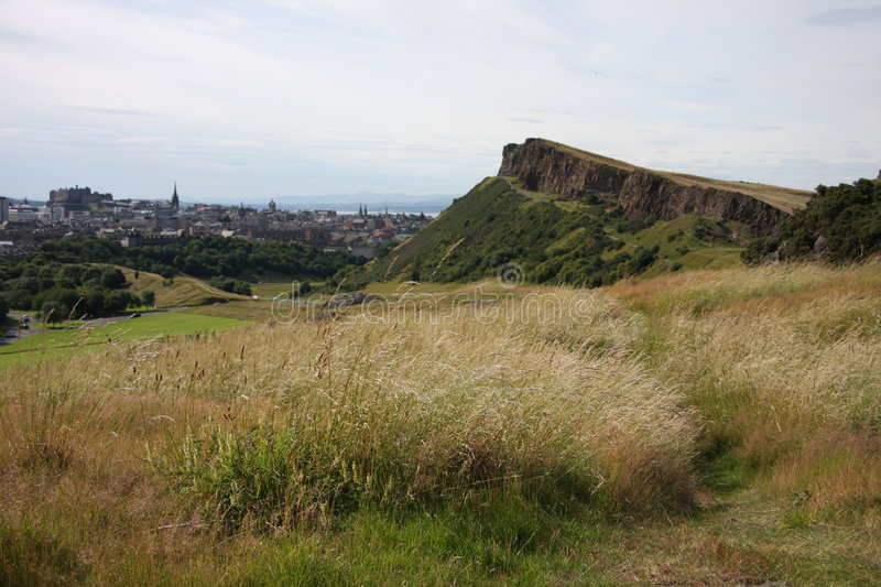 Salisbury Crags royalty free stock images