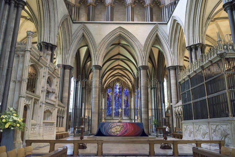 Salisbury katedra zdjęcia stock
