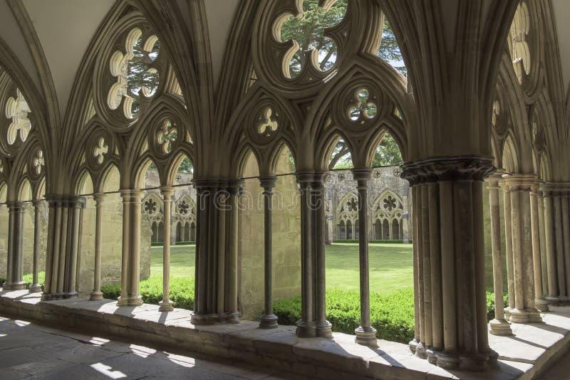 Salisbury katedra obraz royalty free
