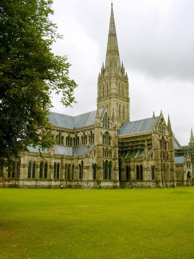 Download Salisbury-Kathedrale Nahe Glastonbury, U K Stockfoto - Bild von ebene, england: 106803260