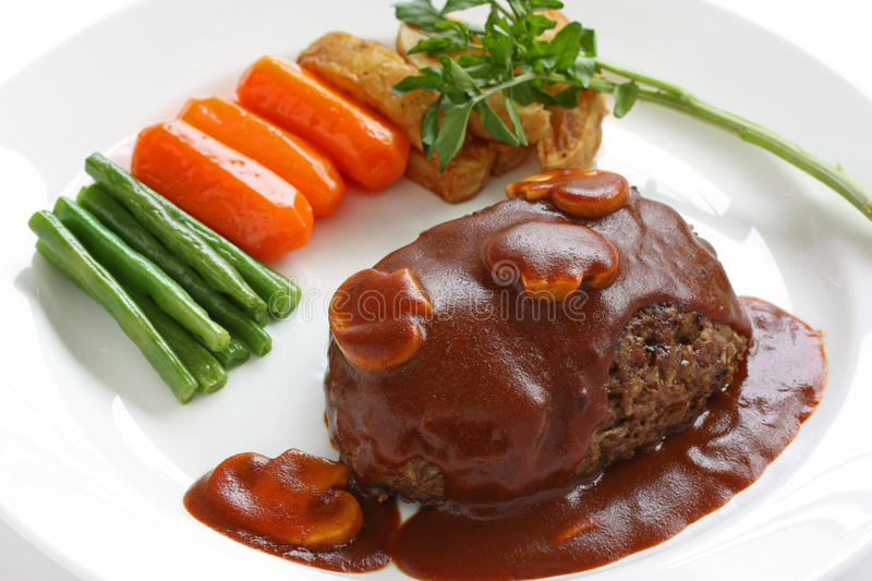 Download Salisbury Steak Royalty Free Stock Image - Image: 19746686