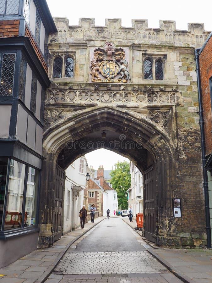 View of the city of Salisbury. SALISBURY, UK - CIRCA SEPTEMBER 2016: View of the city of Salisbury stock images