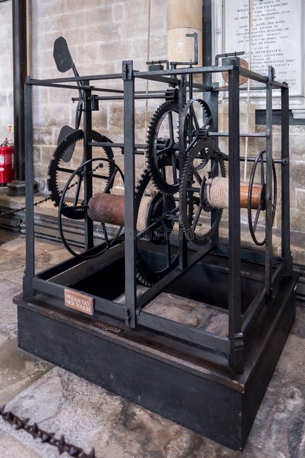 SALISBURY, WILTSHIRE/UK - 21 MAART: Wereld ` s het Oudste Werken royalty-vrije stock foto's