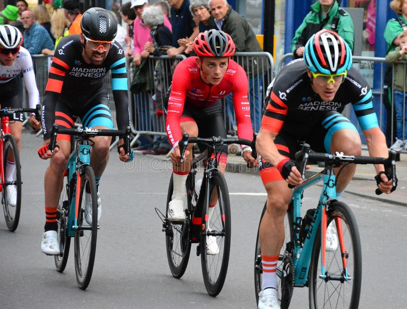 OVO Energy Tour Series Grand Final. stock images