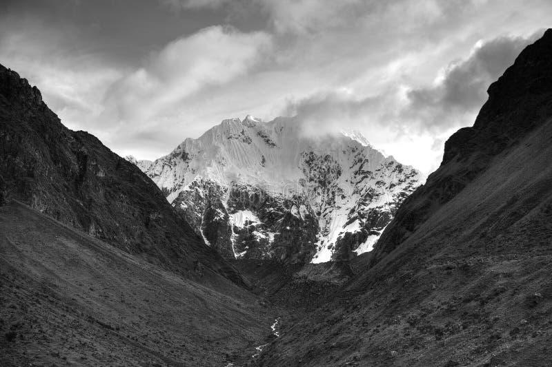 Salkantay góra zdjęcia stock