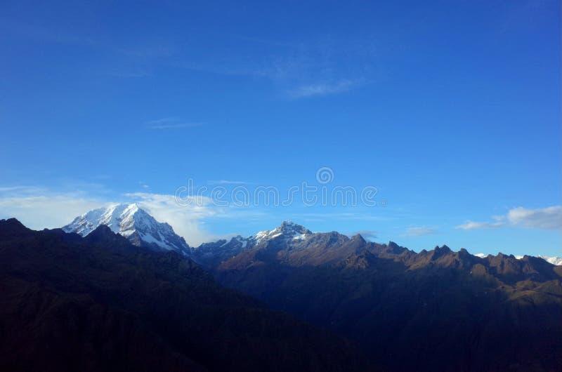 Salkantay góra zdjęcie royalty free