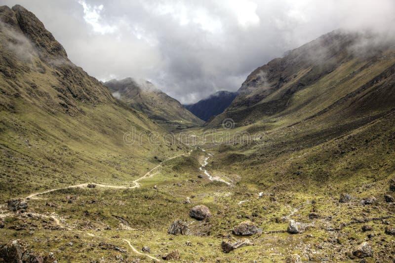 Salkantay góry Peru obraz stock