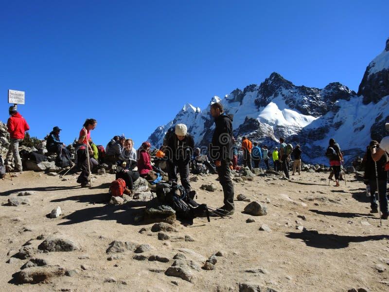 Download Salkantay Inca Trail Dans Cusco, Pérou Image éditorial - Image du nature, perdu: 77155580