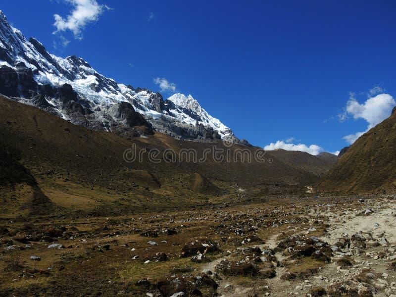 Download Salkantay Inca Trail Dans Cusco, Pérou Photo stock - Image du route, falaise: 77156810