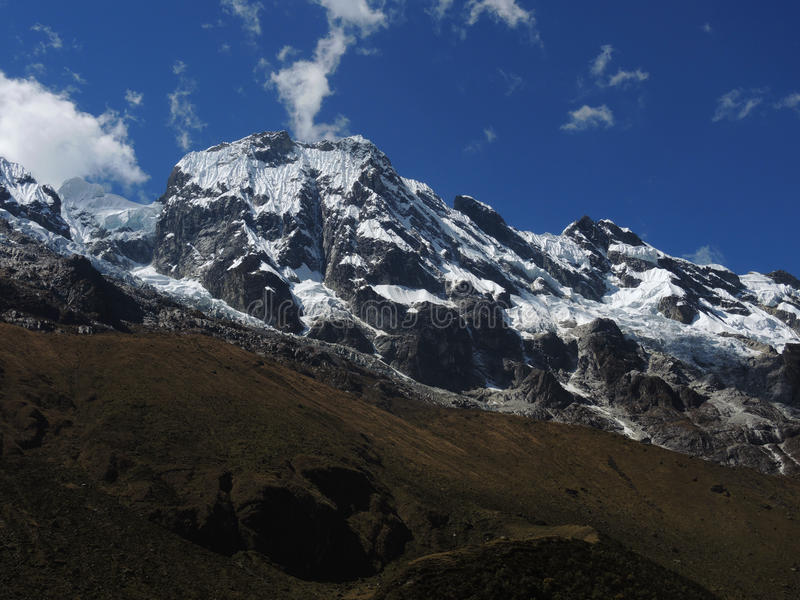 Salkantay Inca Trail em Cusco, Peru foto de stock