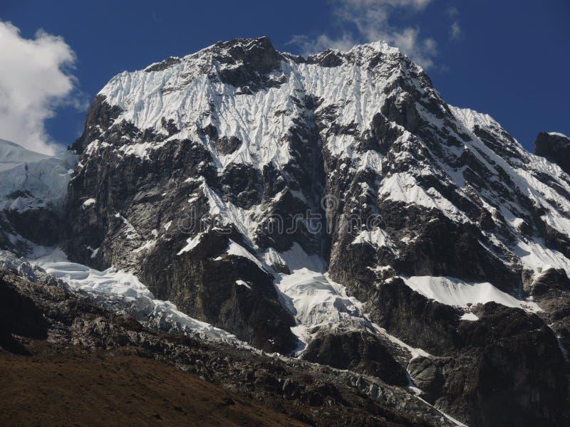 Salkantay Inca Trail em Cusco, Peru fotografia de stock royalty free
