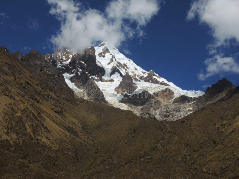Salkantay Inca Trail em Cusco, Peru imagens de stock royalty free