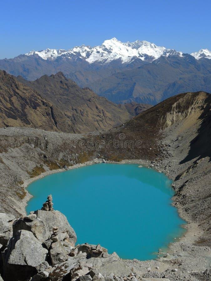 Salkantay inka ślad, Peru zdjęcia royalty free