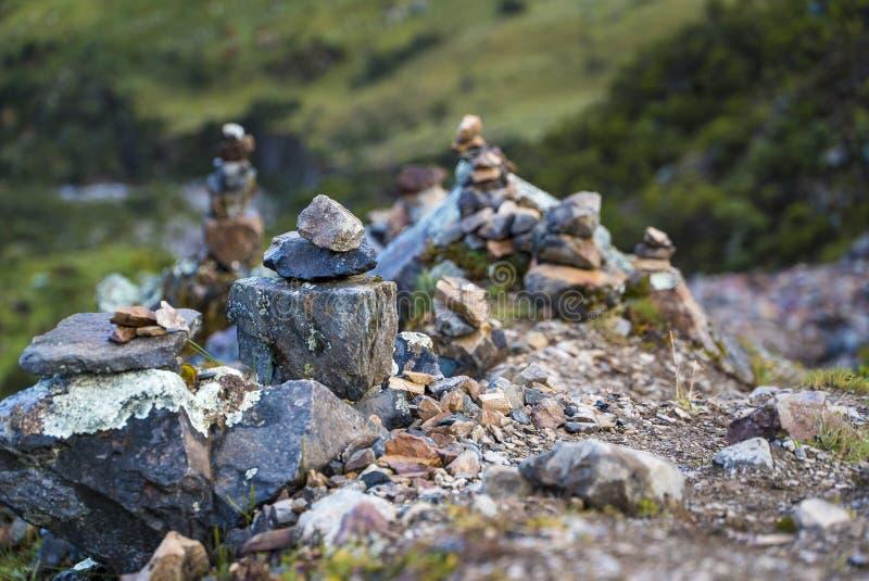 Salkantay Trekking Перу стоковое фото
