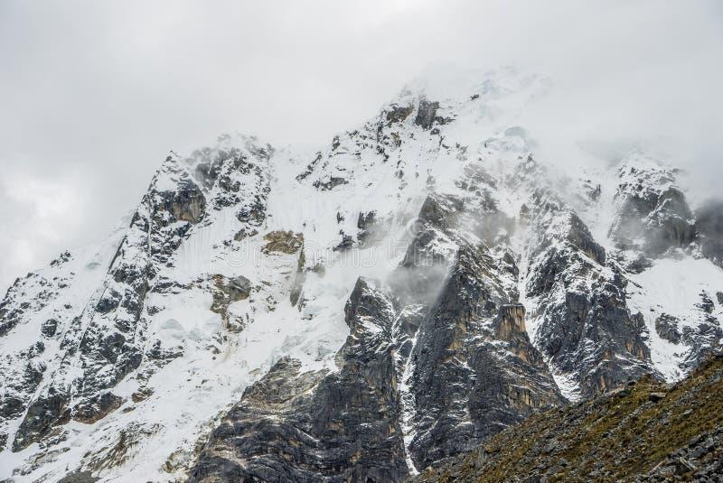 Salkantay Trekking Перу стоковые фотографии rf