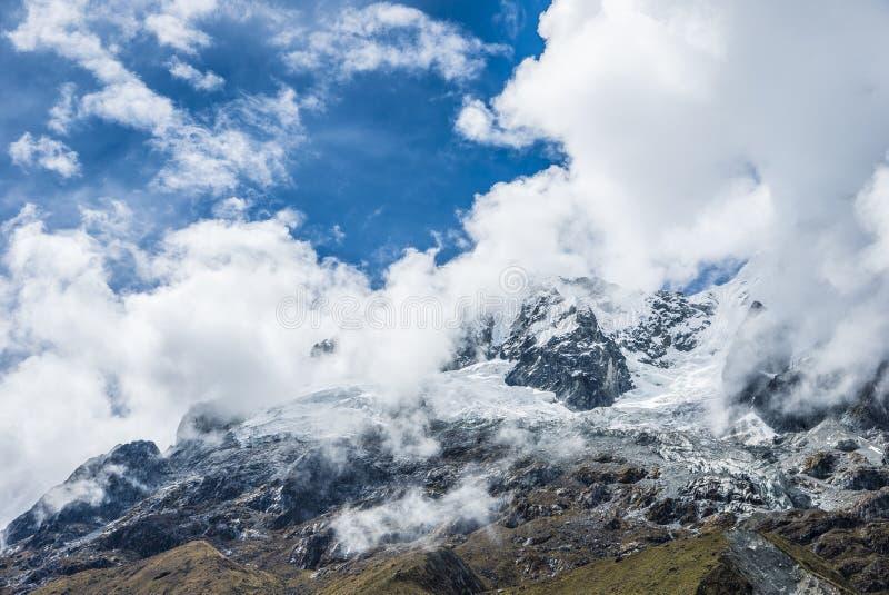 Salkantay Trekking Peru zdjęcia stock